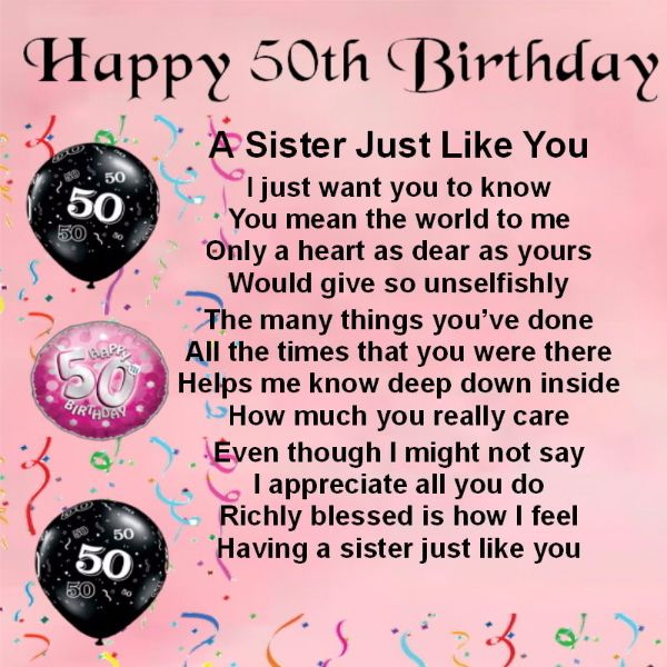 Sweet Birthday Wishes Images For Sister