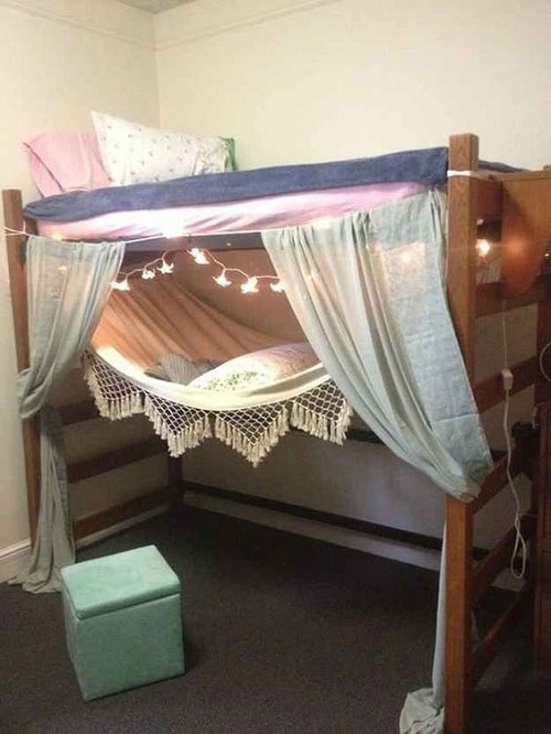 Bed Organizer DIY Room Decor