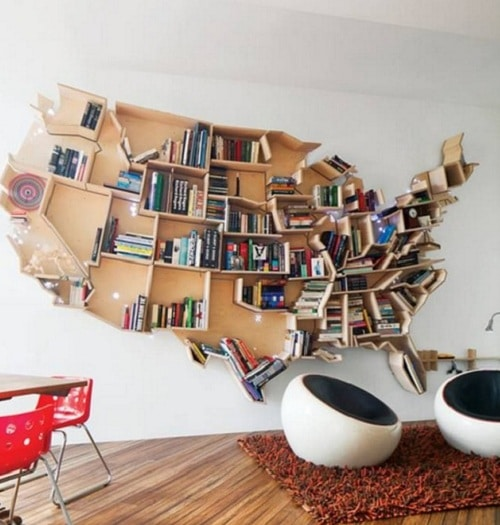 Bookshelf DIY Room Decor