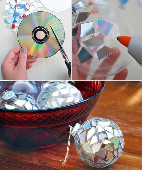 CD Ball DIY Room Decor