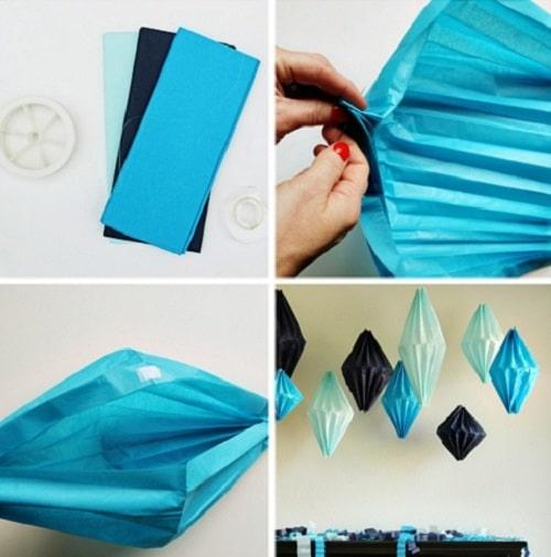 Paper Lanterns DIY Room Decor