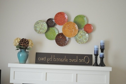 Plates Wall Art DIY Room Decor