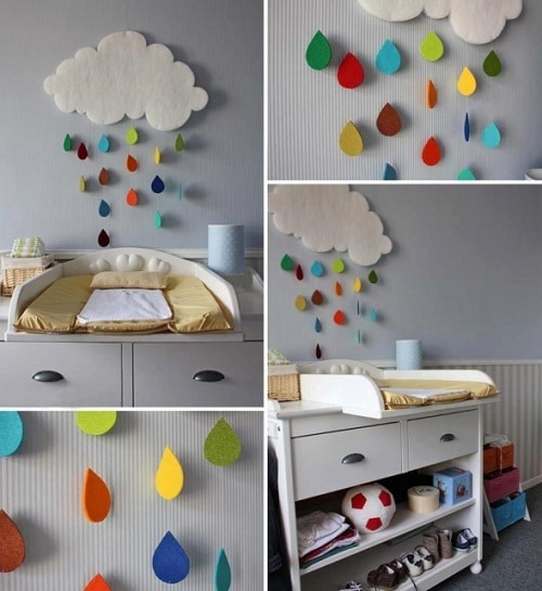 Raindrops DIY Room Decor