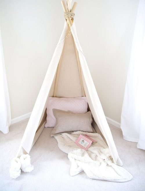 Teepee DIY Room Decor