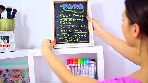 Things To Do Frame DIY Room Decor