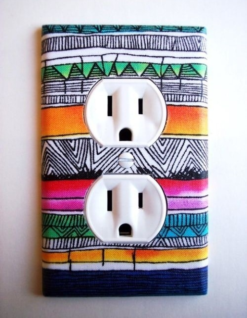 wall socket diy room decor - Diy Room Decor Ideas