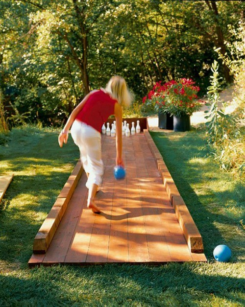 Backyard Bowling DIY Ideas