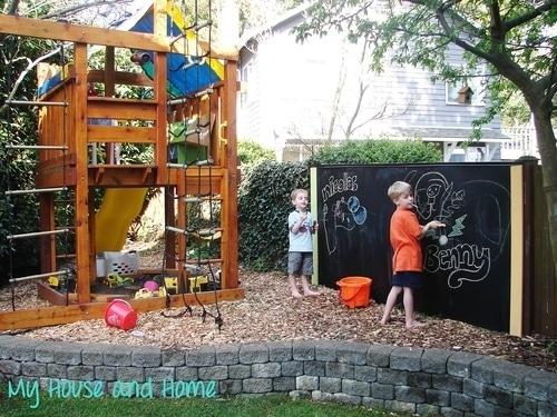 Backyard Play and Study Area DIY Ideas