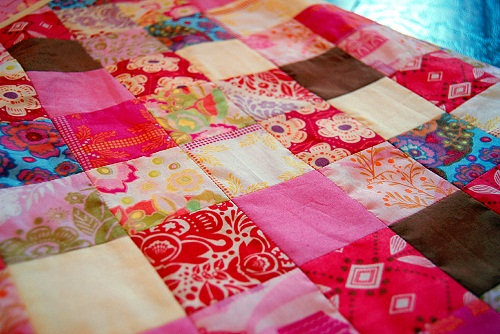 Beautiful Pink Patchwork