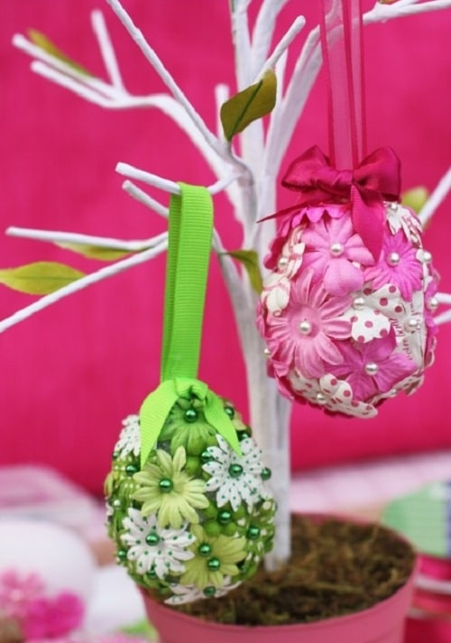 Bedroom Easter Eggs DIY Ideas