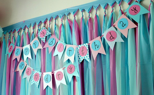Birthday DIY Banner Ideas