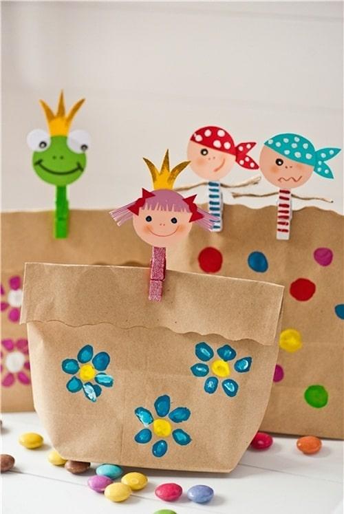 Birthday Paper Bag Giveaways DIY Ideas