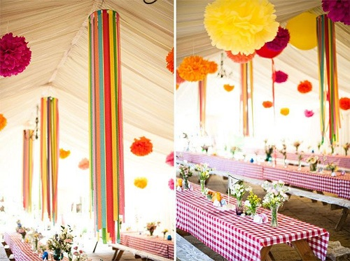 Birthday Venue Ceiling Decors DIY Ideas