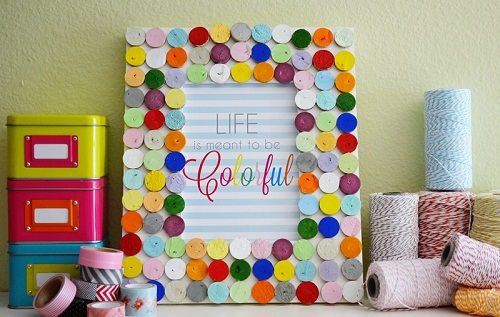 Buttons Photo Frame