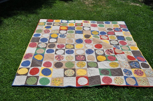 Circle Patchwork Design