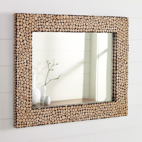 Cloth Covered Photo Frame