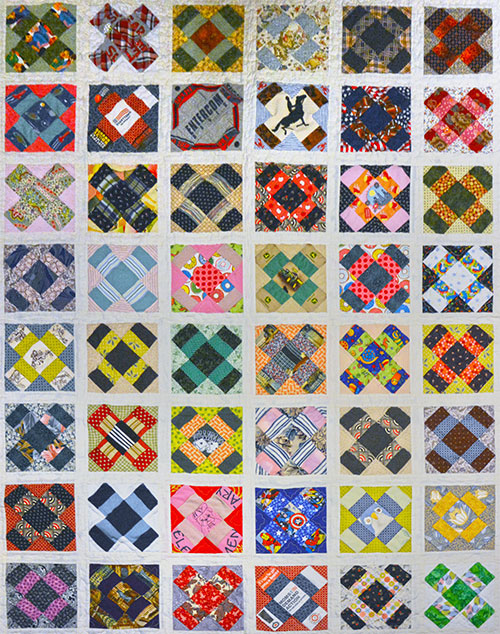 Colorful Cross Patchwork