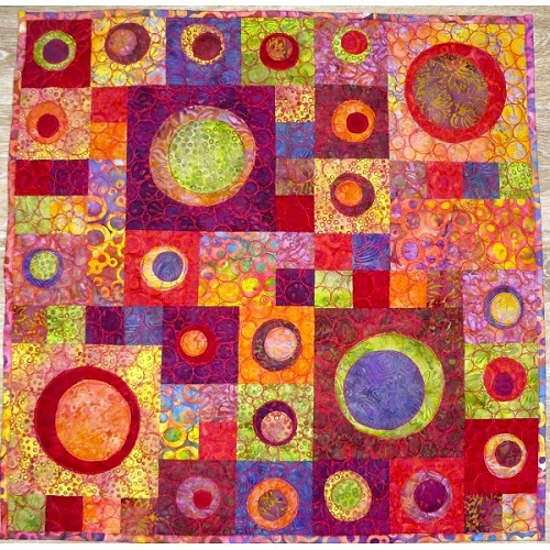 Colorful Patchwork Design
