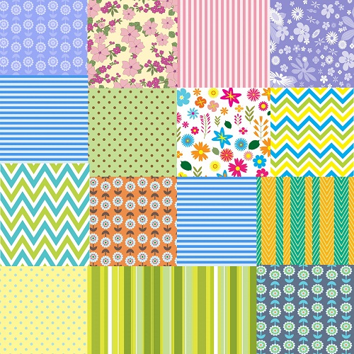 Colorful Pattern Patchwork