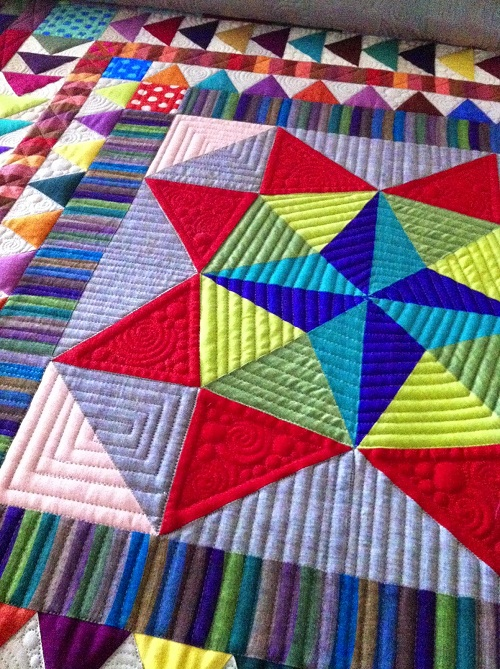 Different Shape Quilt Patchwork