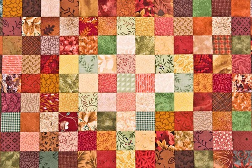 Fall-Themed Patchwork