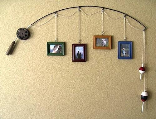 Fishing Rod Photo Frame