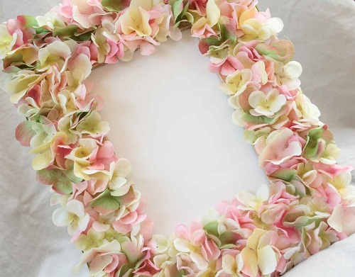 Flower Petals Photo Frame