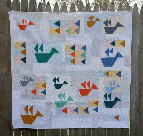 Folded Flock Patchwork