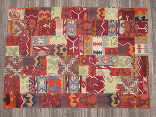 Indian-Themed Patchwork