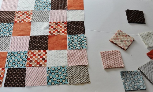 Make Patchwork Quilt DIY