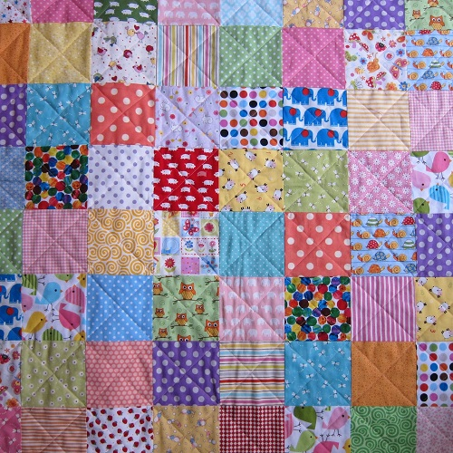 Patchwork Quilt for Kids