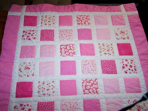 Pink Patchwork for Girls