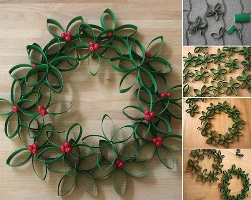 Room Christmas Wreath DIY Ideas