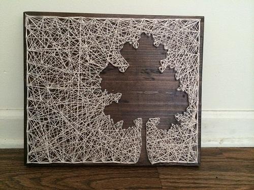 Room Tree String Art DIY Ideas