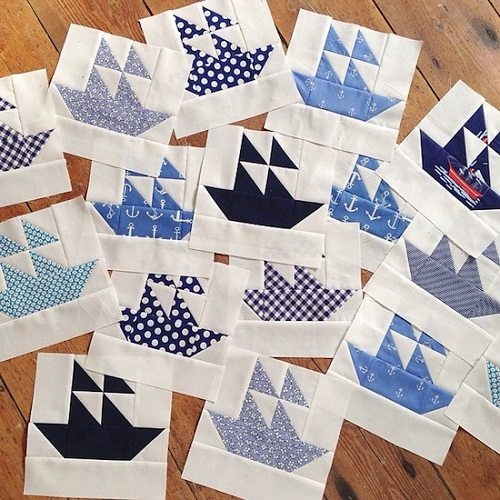 Ship Patchwork Design