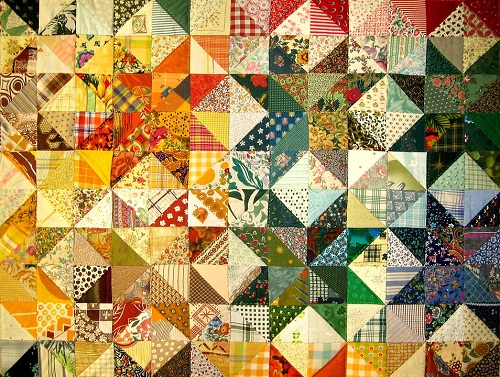 52 Free and Easy Patchwork Quilt Patterns with Images - My Happy ... : patterns for patchwork quilts - Adamdwight.com