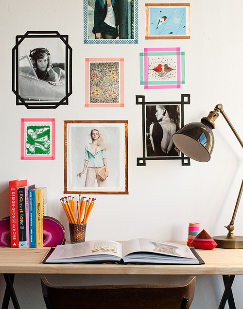 Washi Tape Photo Frame