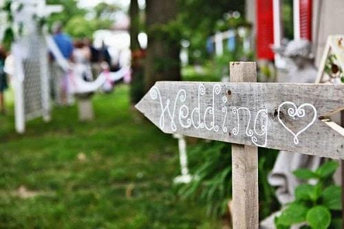 Wedding Arrows DIY Ideas