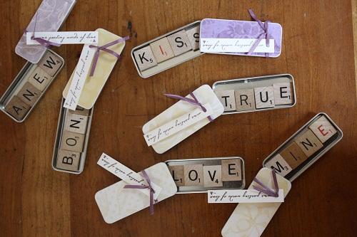 Wedding Giveaway DIY Ideas