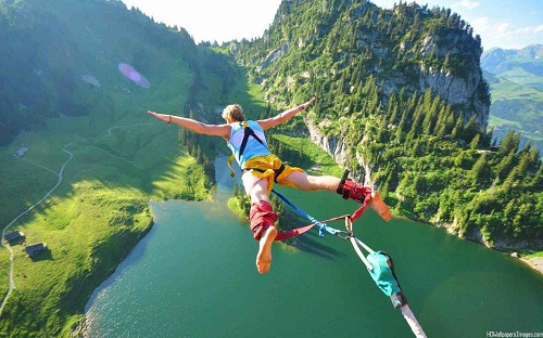 Bungee Jumping 30th Birthday Ideas