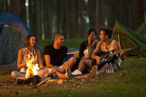 Camping 30th Birthday Ideas