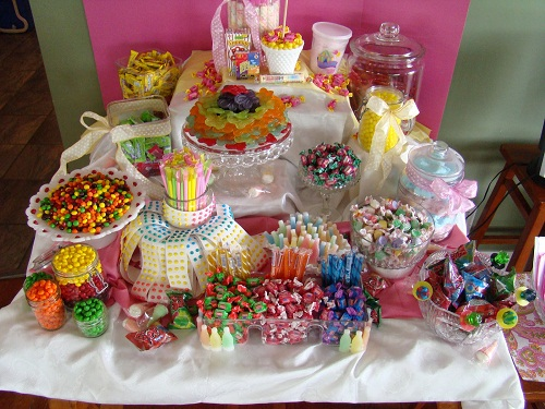 Candy Corner 30th Birthday Ideas