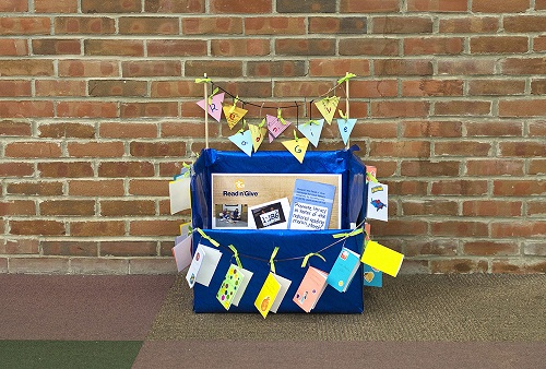 Donate a Book 30th Birthday Ideas