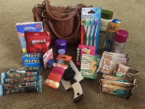 Gift Bag with Necessities 30 Birthday Ideas