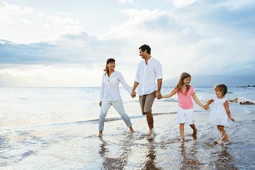 Vacation with Family 30th Birthday Ideas