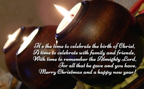 birth of Christ christmas wishes