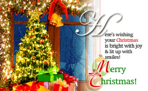 bright with joy christmas wishes