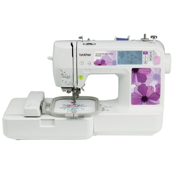 Brother Pe525 Embroidery Machine For Hats