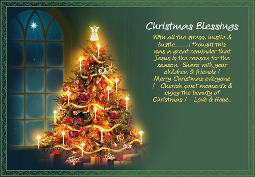 christmas blessings christmas wishes