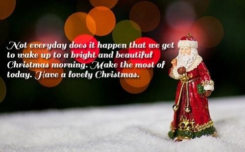 christmas morning christmas wishes